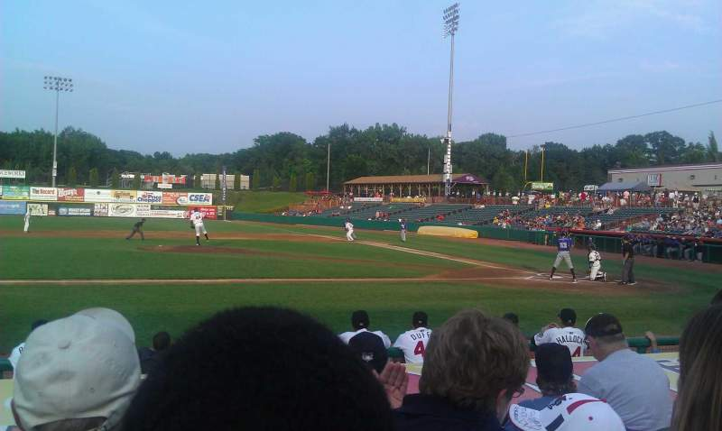 Seating view for Joseph L. Bruno Stadium Section 150 Row H Seat 6