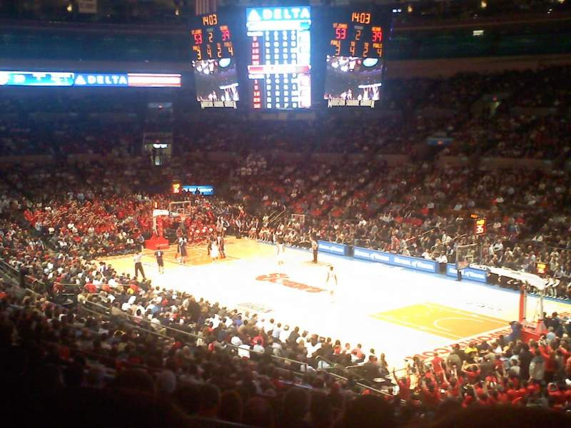 Madison Square Garden, section: 119