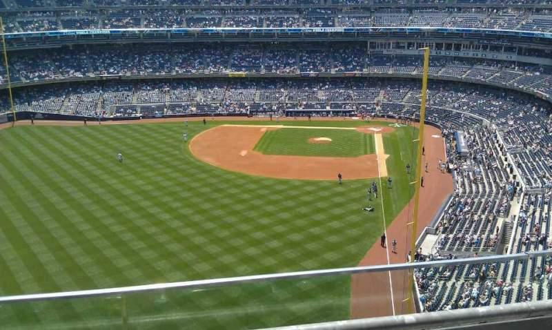Seating view for Yankee Stadium Section 434A Row 2 Seat 4