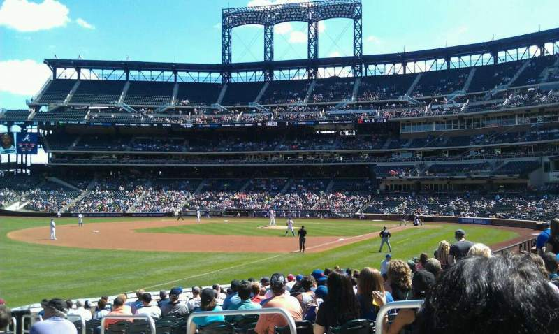 Seating view for Citi Field Section 128 Row 14 Seat 4