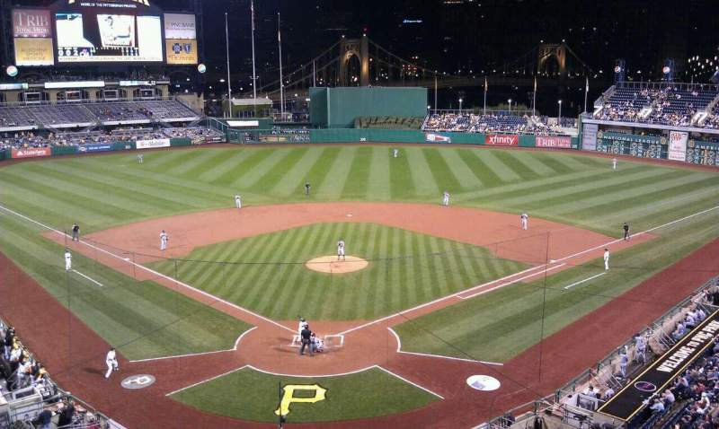 Seating view for PNC Park Section 216 Row A Seat 5