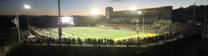 Bob Ford Field, section: Panoramic