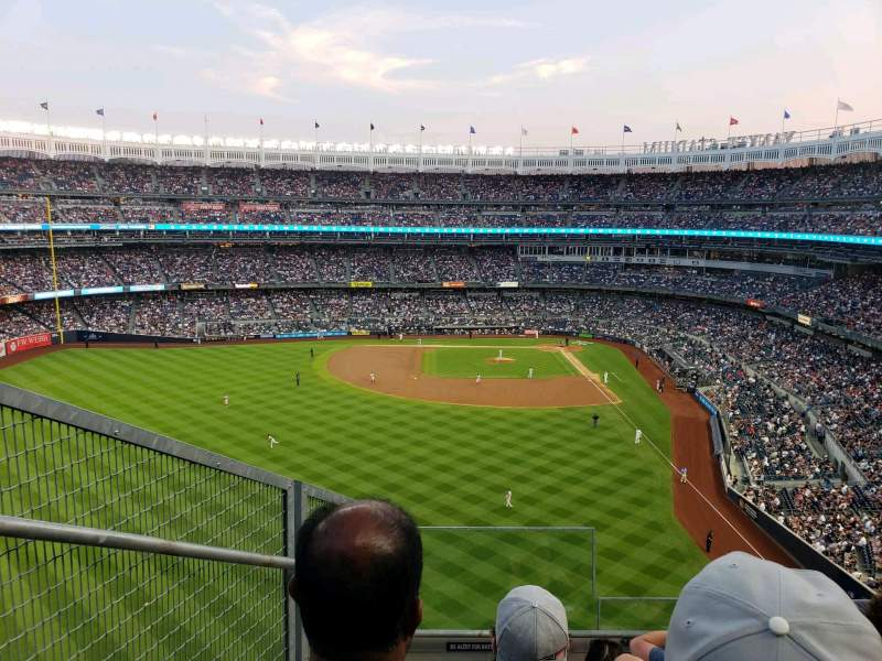 Yankee Stadium, section: 334, row: 5, seat: 32