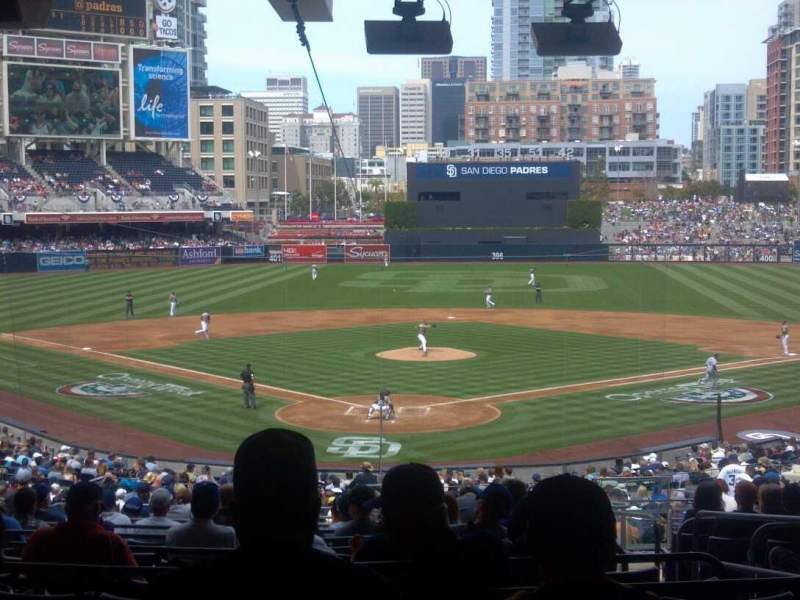 Seating view for PETCO Park Section G Row 17 Seat 9
