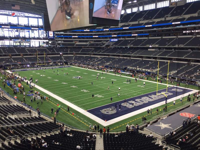 Seating view for AT&T Stadium Section 303 Row 4 Seat 3