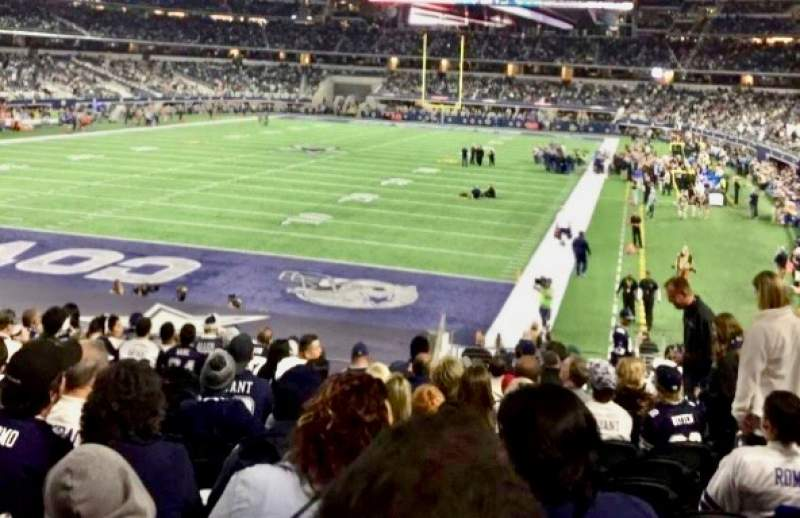 Seating view for AT&T Stadium Section 121 Row 21 Seat 16