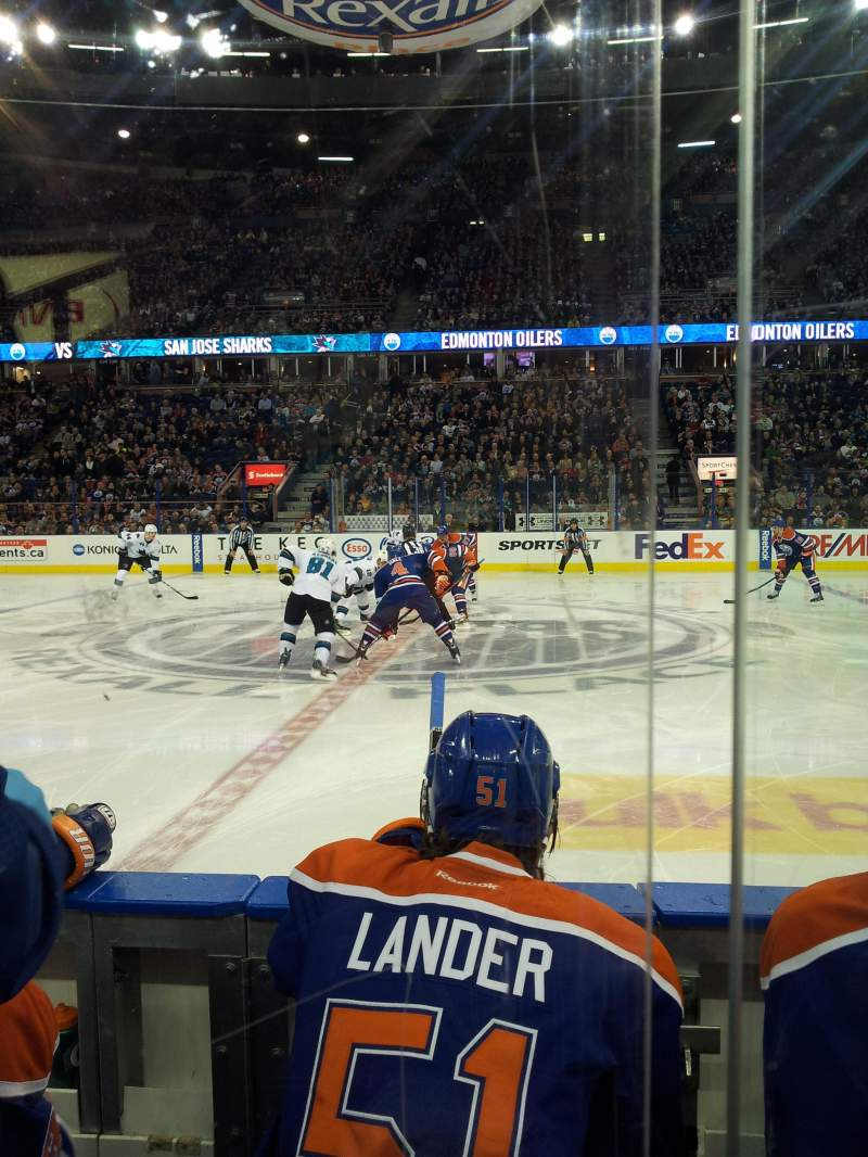 Seating view for Northlands Coliseum Section 119 Row 3 Seat 7