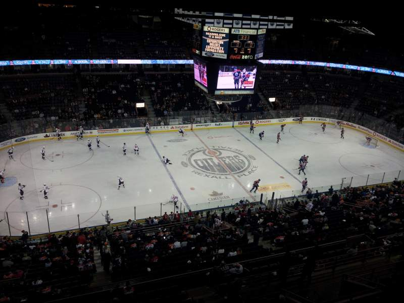 Seating view for Rexall Place Section Sky Box 14