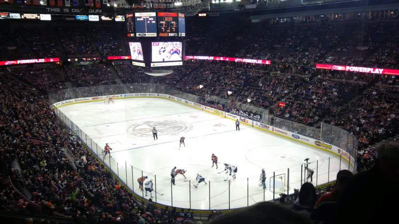 Seating view for Northlands Coliseum Section 231 Row 32 Seat 2