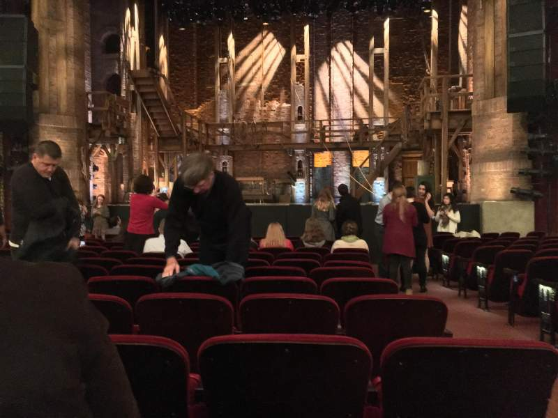 Seating view for CIBC Theatre Section Orchestra C Row N Seat 113