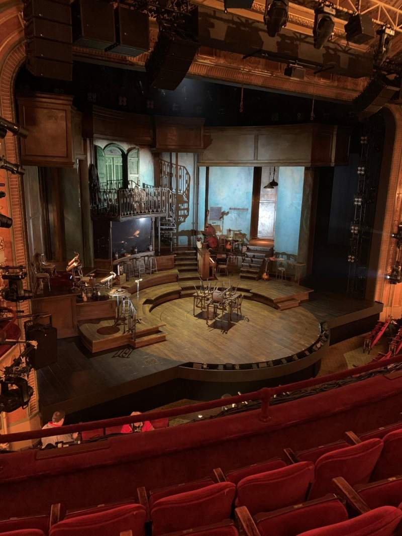 Seating view for Walter Kerr Theatre Section Mezzanine L Row D Seat 17