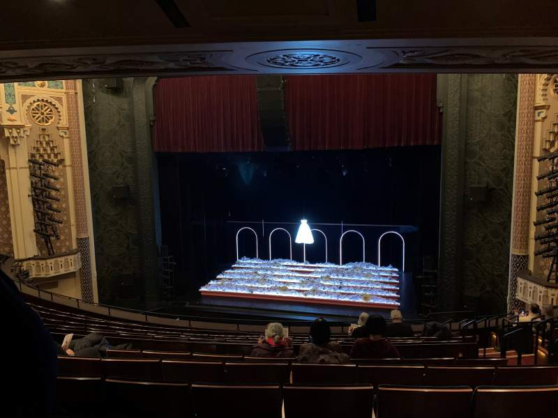 Seating view for Mainstage at the New York City Center Section Mezzanine C Row F Seat 125