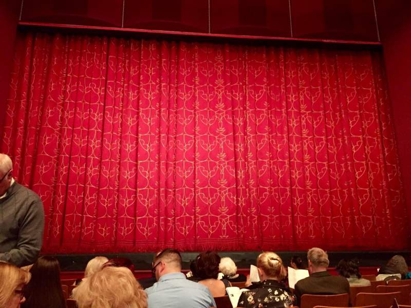 The Kennedy Center Opera House, section: ORCH, row: O, seat: 116