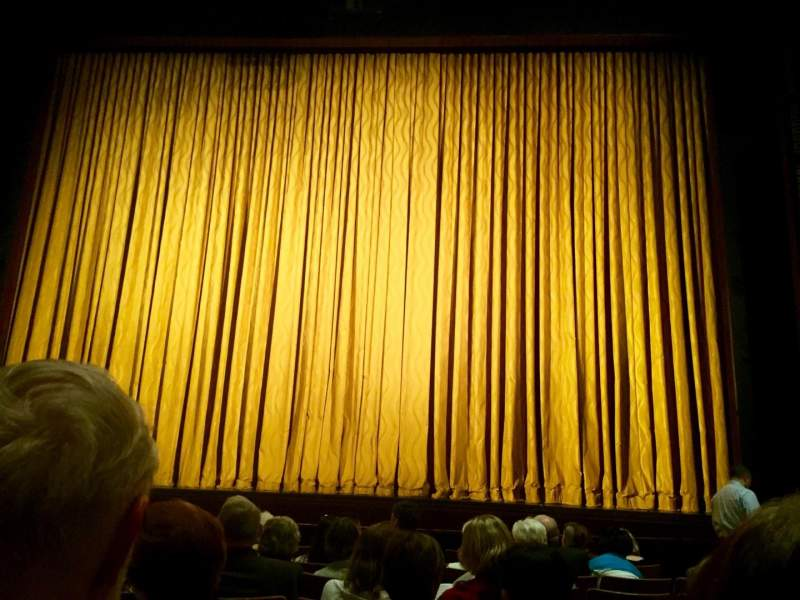 Seating view for The Kennedy Center Eisenhower Theater Section ORCH Row M Seat 107