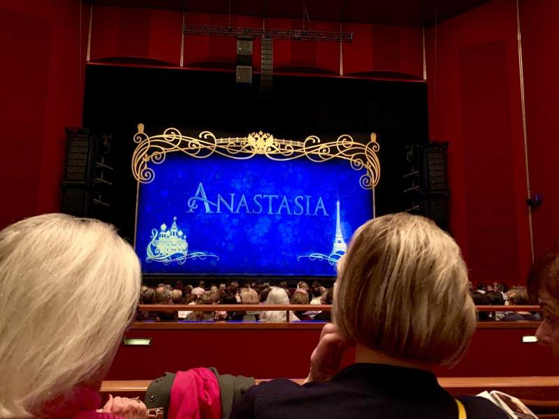 Seating view for The Kennedy Center Opera House Section ORCH Row T Seat 117