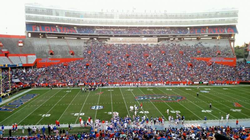 Seating view for Ben Hill Griffin Stadium Section 40 Row 58 Seat 15