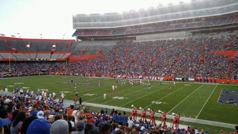 Seating view for Ben Hill Griffin Stadium Section 30 Row 31 Seat 14