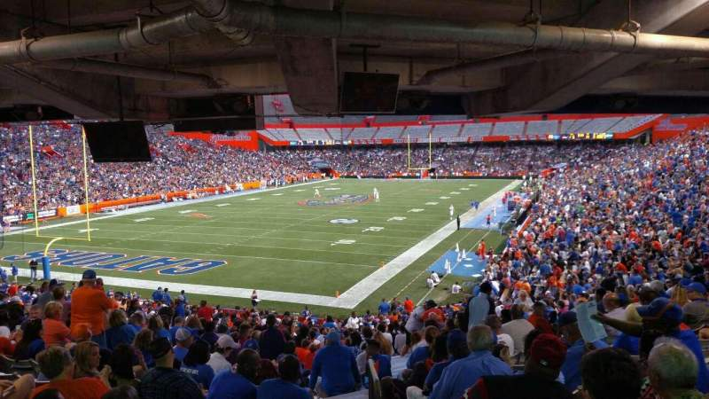 Ben Hill Griffin Stadium, section: 18-20, row: 36, seat: 33