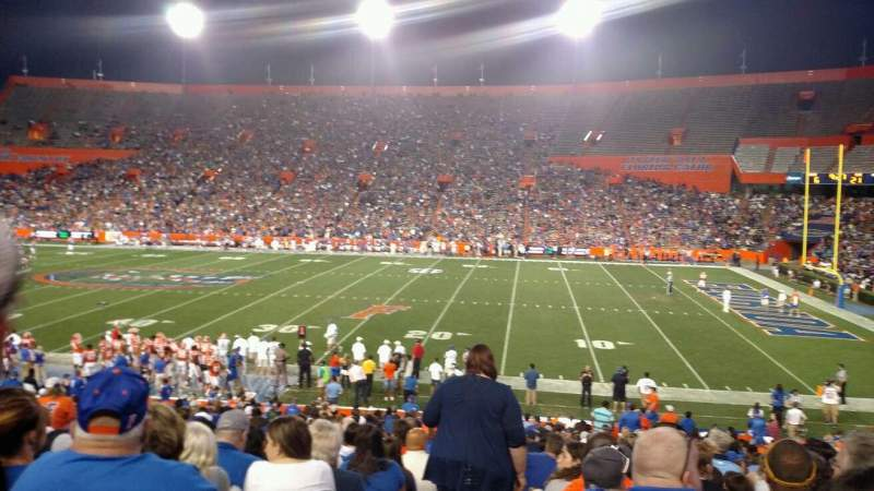 Seating view for Ben Hill Griffin Stadium Section 4 Row 30 Seat 15
