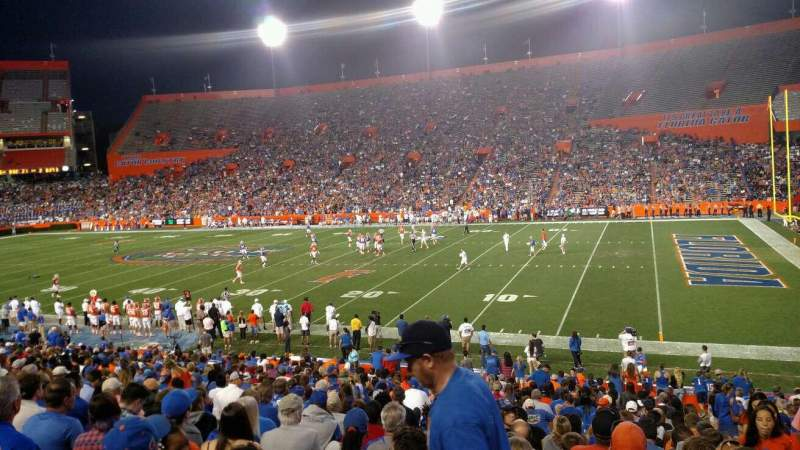 Seating view for Ben Hill Griffin Stadium Section 2 Row 31 Seat 15