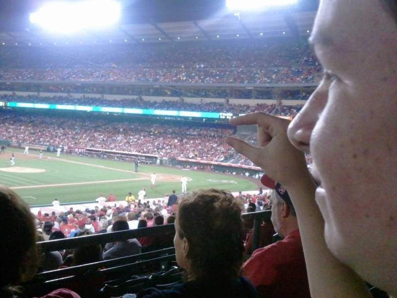 Seating view for Angel Stadium Section T209 Row B Seat 9
