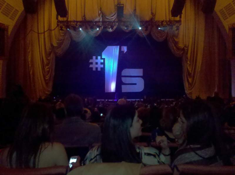 Seating view for Radio City Music Hall Section Orchestra 4 Row C Seat 408
