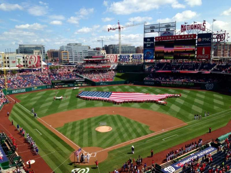 Seating view for Nationals Park Section 315 Row C Seat 13