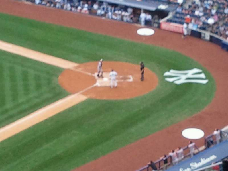 Seating view for Yankee Stadium Section 428 Row 12 Seat 6
