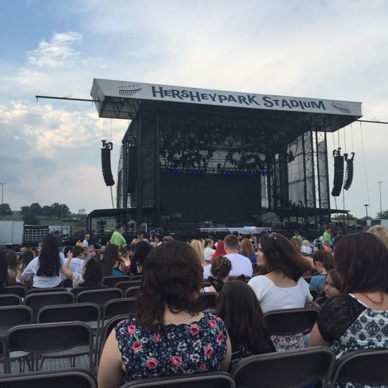 Seating view for Hershey Park Stadium
