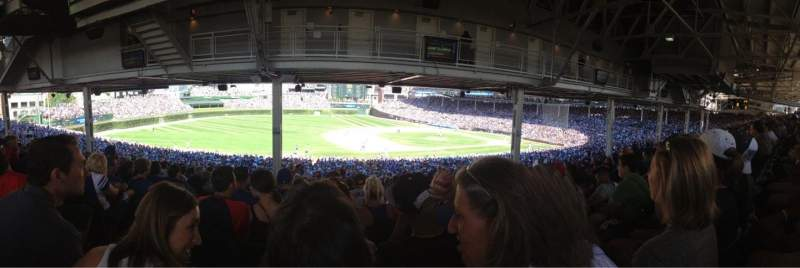 Seating view for Wrigley Field Section 209 Row 21 Seat 3