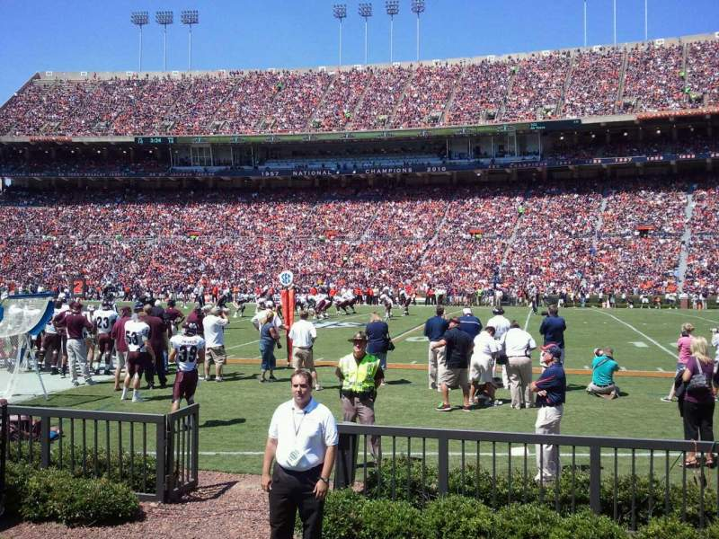 Seating view for Jordan-Hare Stadium Section 32 Row 2 Seat 10