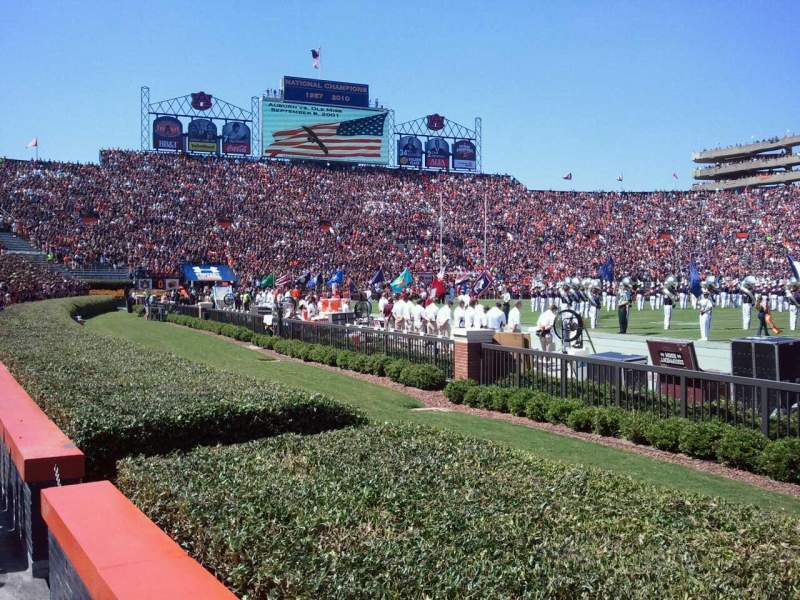 Seating view for Jordan-Hare Stadium Section 32 Row 2 Seat 11
