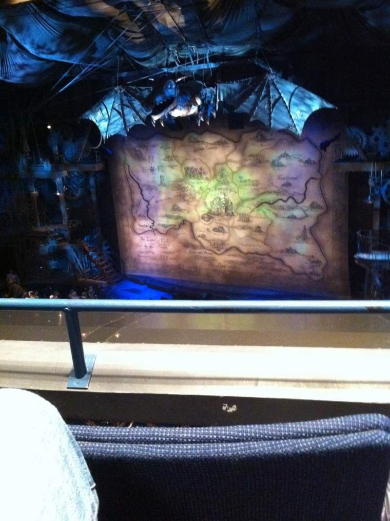 Seating view for Gershwin Theatre Section FMezz Row B Seat 10