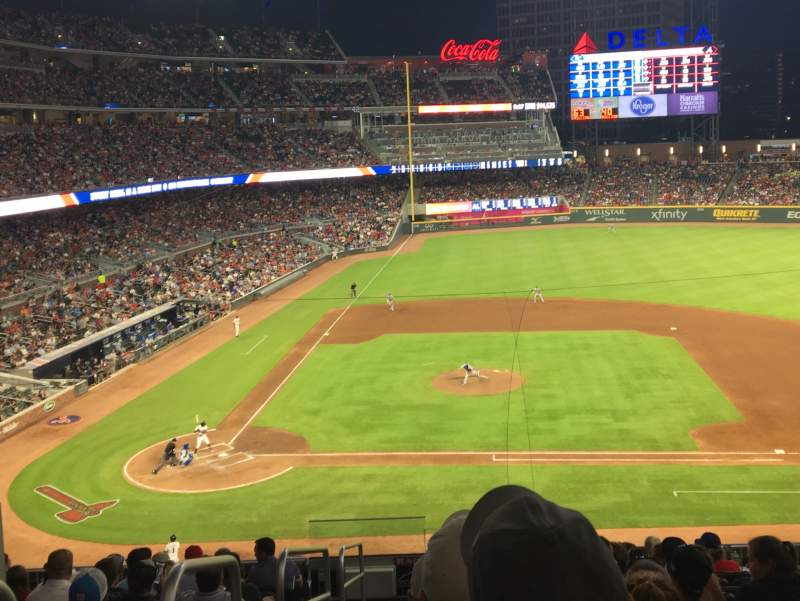 Seating view for SunTrust Park Section 220 Row 10 Seat 11
