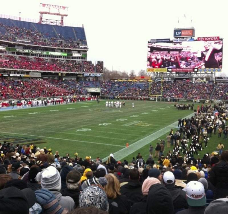 Seating view for Nissan Stadium Section 120 Row FF Seat 8