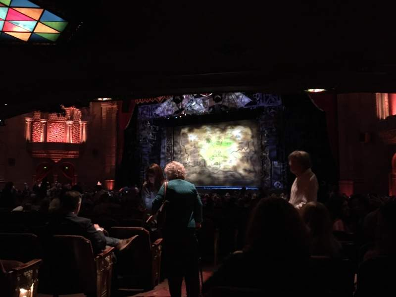 Seating view for Fox Theatre (Atlanta) Section Orchestra R Row FF Seat 4