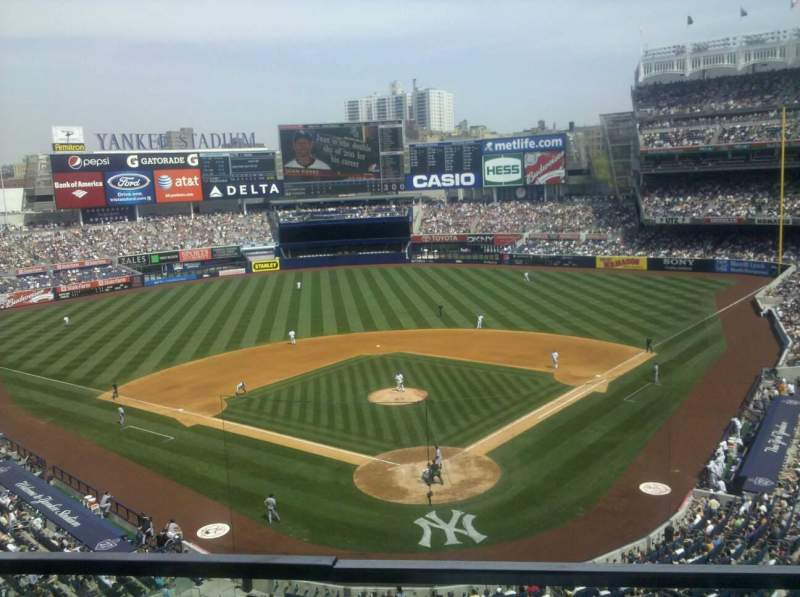 Seating view for Yankee Stadium Section 320B Row 3 Seat 16