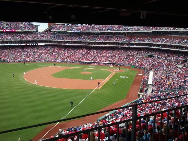 Seating view for Citizens Bank Park Section 237 Row 12 Seat 1