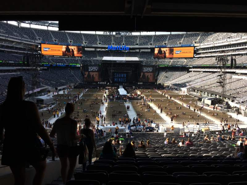 Seating view for MetLife Stadium Section 126 Row 46 Seat 31