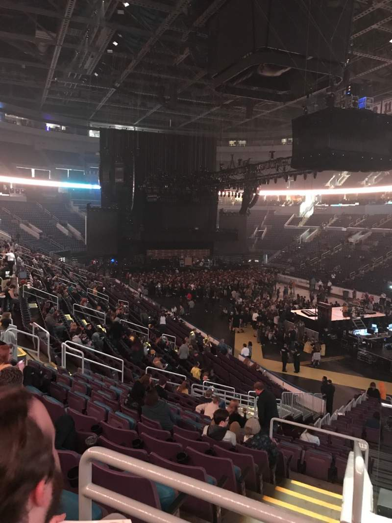 Seating view for Enterprise Center Section 113 Row CC Seat 2