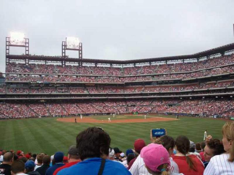 Seating view for Citizens Bank Park Section 146 Row 20 Seat 11