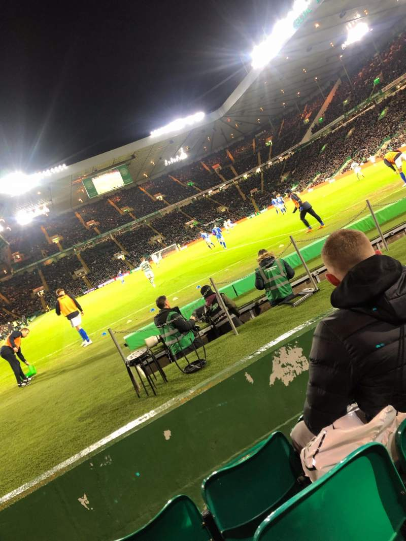 Seating view for Celtic Park Section 117 Row C Seat 4