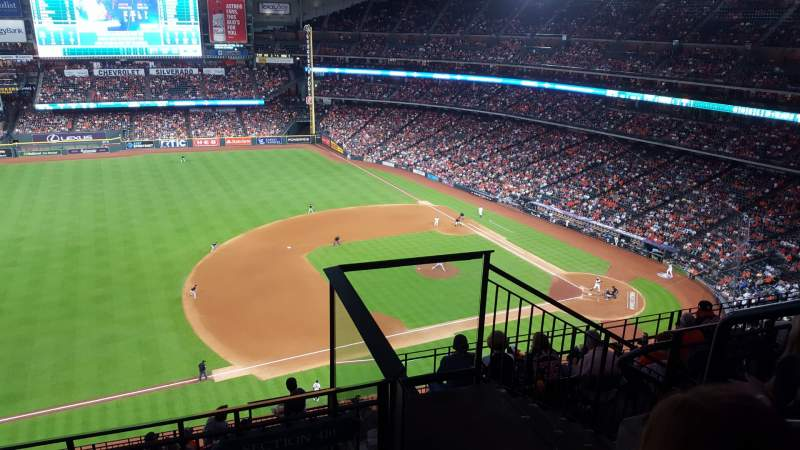 Seating view for Minute Maid Park Section 410 Row 3 Seat 24