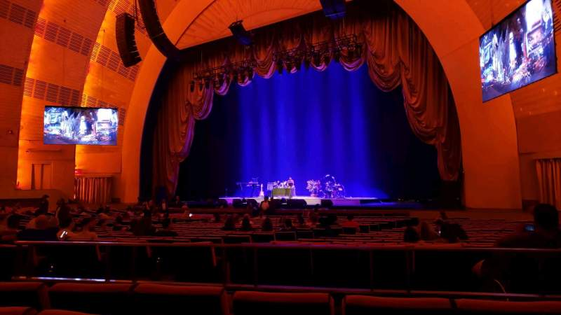 Seating view for Radio City Music Hall Section Orchestra 2 Row ZZ Seat 206
