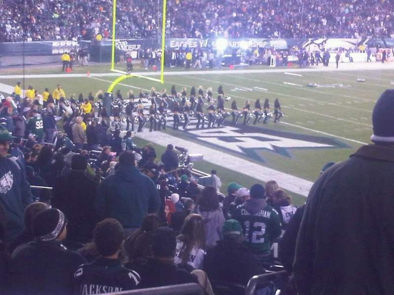 Seating view for Lincoln Financial Field Section Alumni