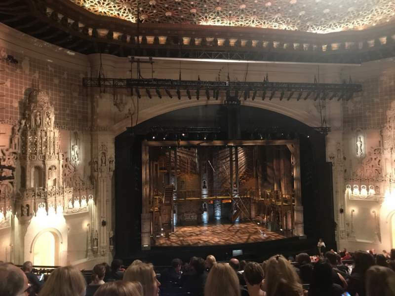 Seating view for Orpheum Theatre (San Francisco) Section Mezzanine LC Row K Seat 125