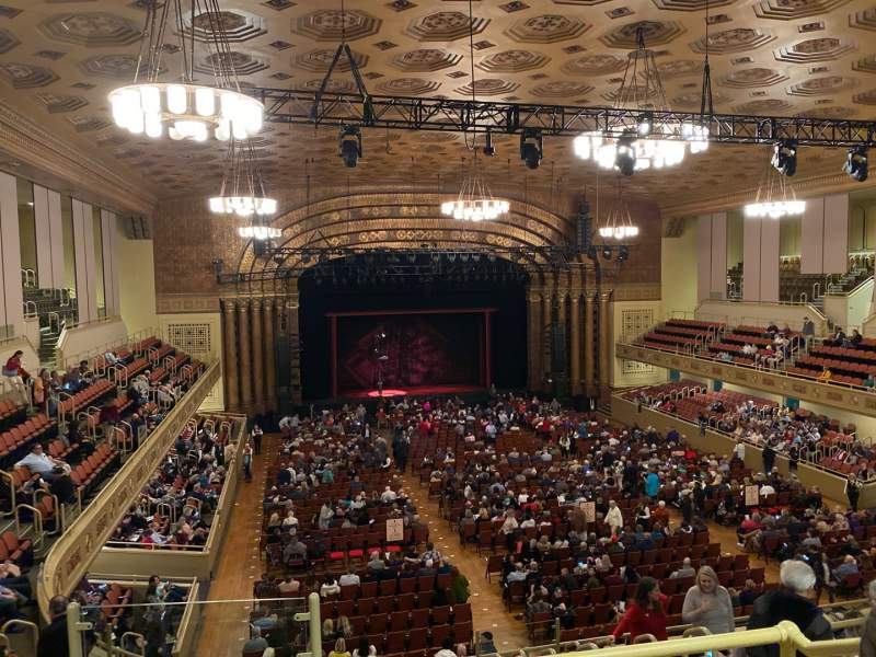 Seating view for Sacramento Memorial Auditorium Section 201 Row D Seat 12