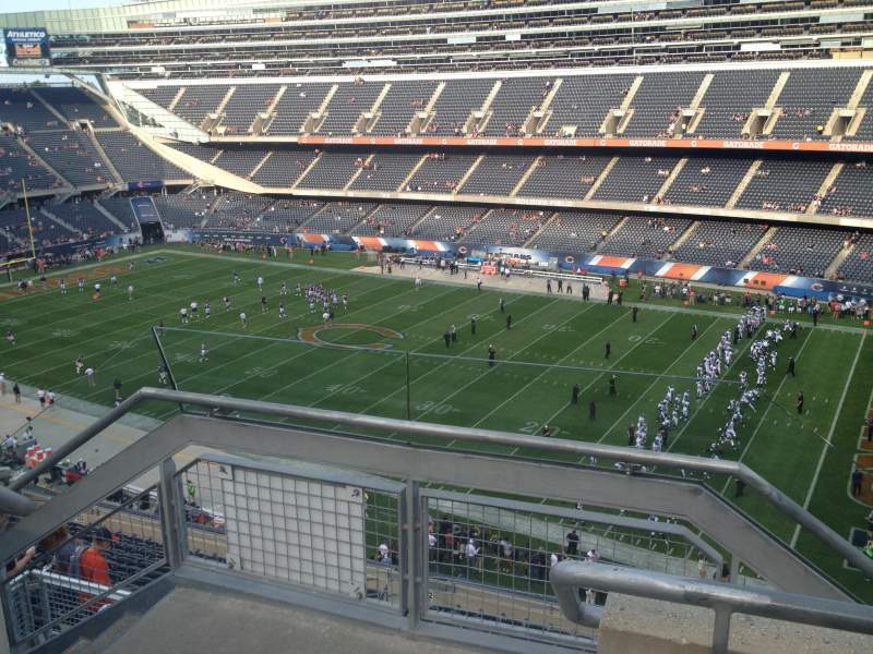 Seating view for Soldier Field Section 432 Row 2 Seat 1