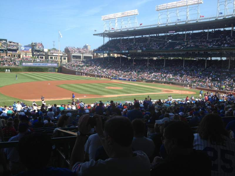 Seating view for Wrigley Field Section 211 Row 6 Seat 106