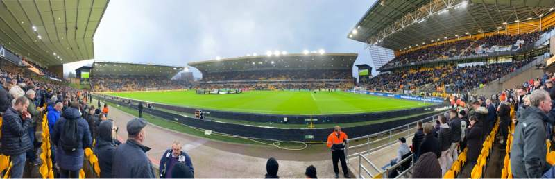 Seating view for Molineux Stadium Section JL3